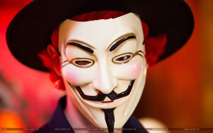 photo anonymous mask wallpaper tv show pinterest