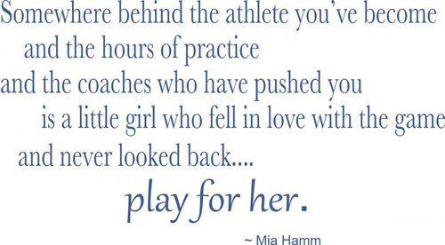 inspiring mia hamm soccer quote soccer amp tennis