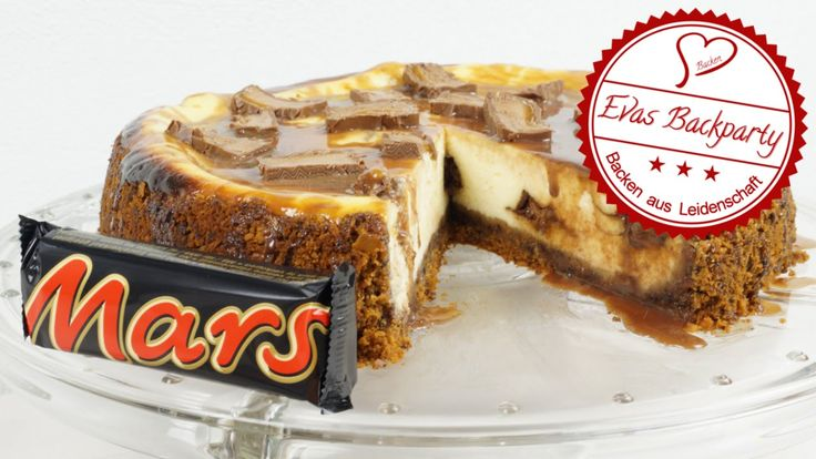 leckerer Mars Cheesecake ( Käsekuchen mit Marsriegel )