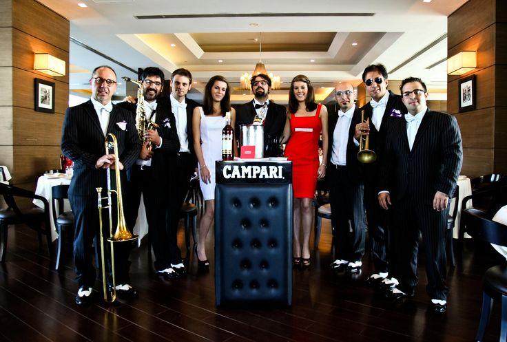 Mark Zitti e i Fratelli coltelli Event for Campari at Bice Hilton Dubai @henryhenryruggeri Pics