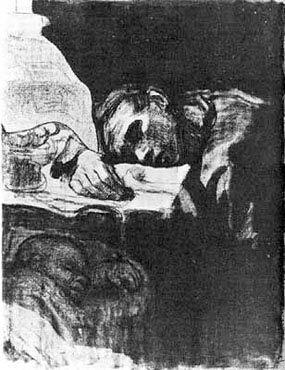 Käthe Kollwitz, etching, soft-ground