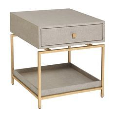 Alexander Side Table Flax/Silver And Other Furniture U0026 Decor Products.