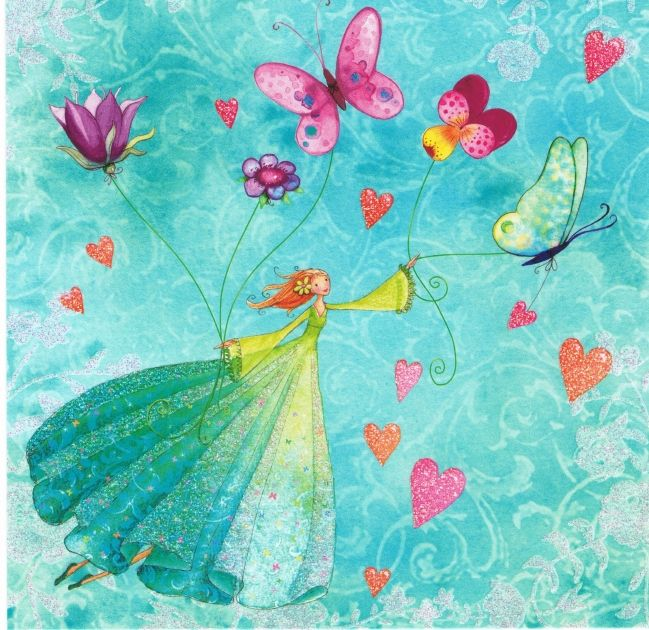 Mila Marquis art butterflies illustration