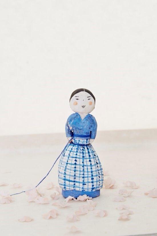 #ceramic doll  #꼭두 #김운희 #차이킴