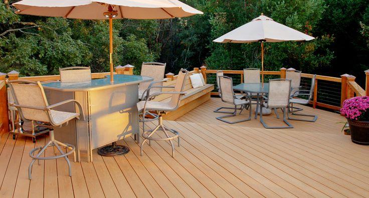 13 best tamko decking images on pinterest decks for Compare composite decking brands
