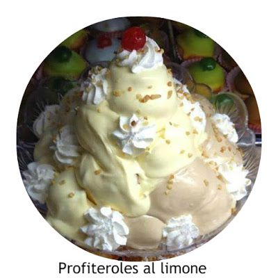 a.c: Profiteroles al limone