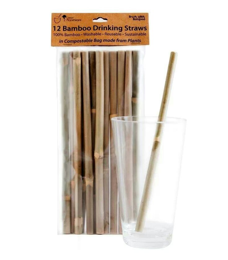 Bamboo straws. I need to figure out an easy way to carry these around without getting them dirty.
