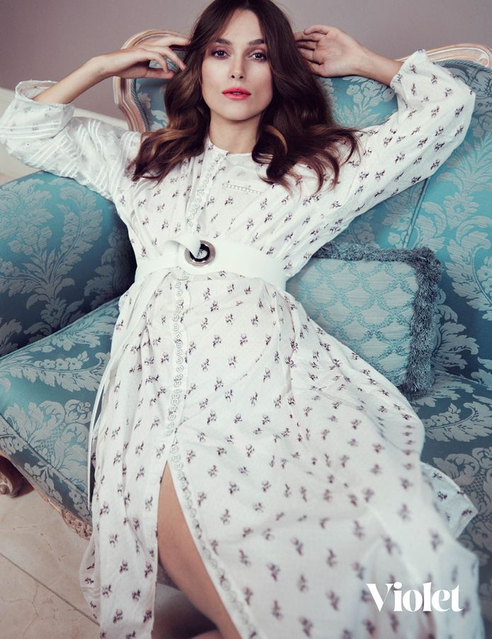 Keira Knightley by Elena Rendina for Violet #3 dior