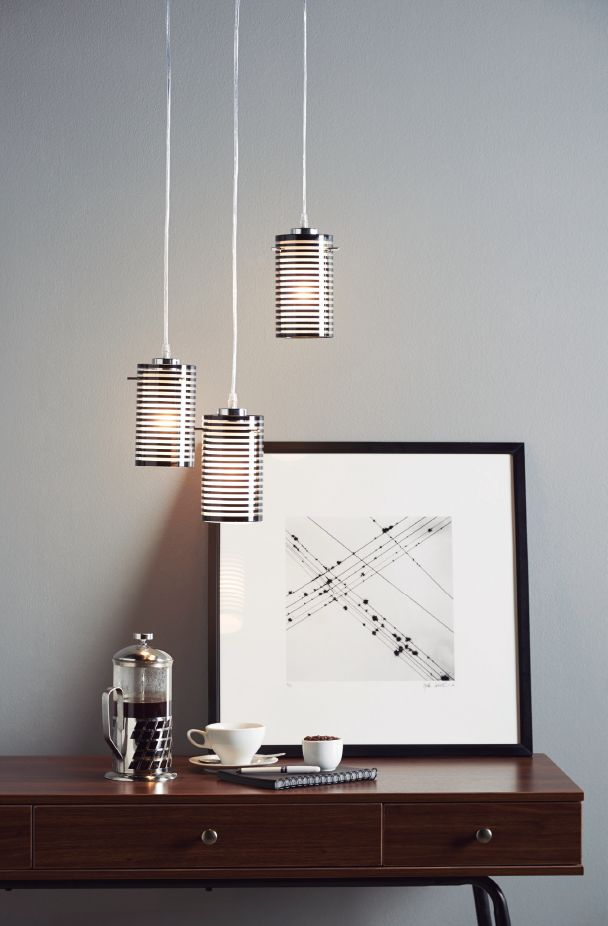 Tríos de lámparas para darle movimiento a tus ambientes. ¡Juega con la luz!  #Home #Light #Deco #Style #Home #Easy #EasyTienda #TiendaEasy  #decotendencias