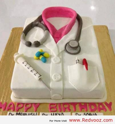 Birthday Cakes For Male Doctors