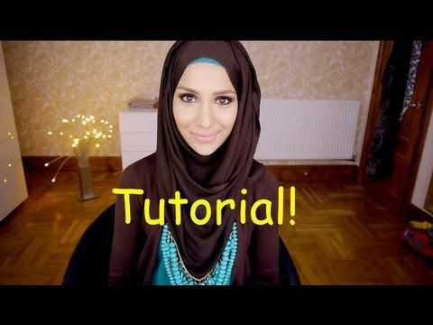 AMENAKIN'S HOOJAB TUTORIAL! (HIJAB STYLE) - YouTube