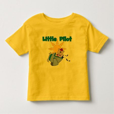Bear Little Pilot T-shirts and Gifts - tap to personalize and get yours