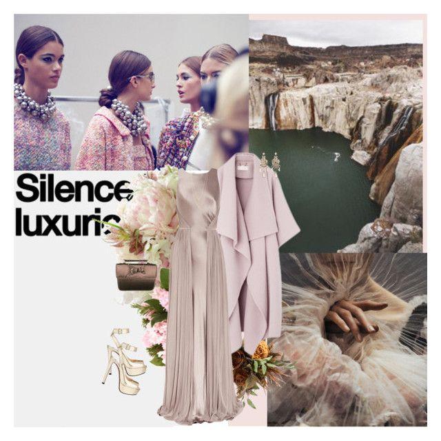 """824. Silk"" by dreamingofamelia ❤ liked on Polyvore featuring ...Lost, Amanda Wakeley, Prada, Tataborello and Jennifer Zeuner"