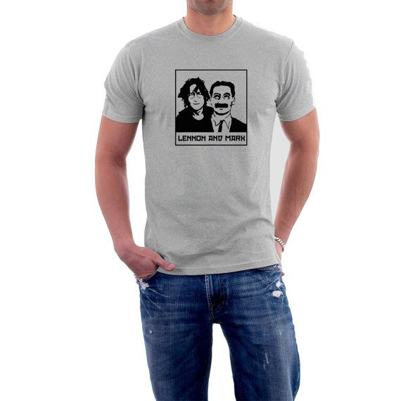 Imagine... if John Lennon would have teamed up with #Groucho Marx instead of Paul McCartney what a different world we'd live in. Perhaps we wouldn't have been blessed with h... #music #comedy #groucho #beatles #britain #pop #cinema #movies #humor #4xl #5xl ➡️ http://etsy.me/2gBx41m