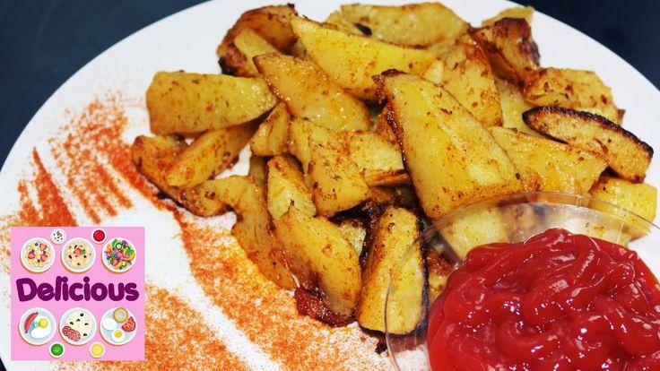 Homemade Wedges Potatoes Recipe - How to make potatoes wedges - Easy pot...