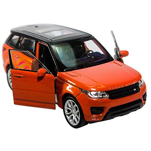 Welly 134139 Diecast Land Rover Range Rover Sport Car Orange Color Model Collection >>> Read more reviews of the product by visiting the link on the image.Note:It is affiliate link to Amazon.