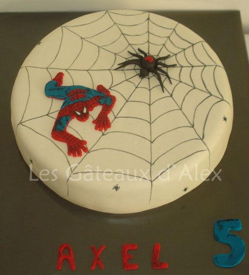 gateau tortue - Spiderman - Page 16