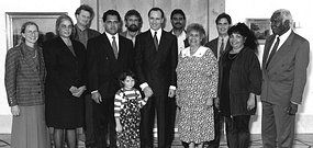 """Former Prime Minister Paul Keating on Mabo who died on 21 Jan 1992 of cancer at 55, five months before the High Court announced its historic decision: """"Well the biggest pressure came at the end. The greater body of the parliamentary caucus in the form of senior people in the cabinet wanted me to give it up towards the end... and I said you've got to be joking, you've got to be joking, but they weren't joking. You know they didn't think I could get it through."""""""