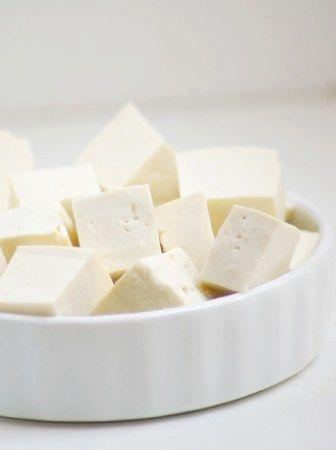 Tofu duro.