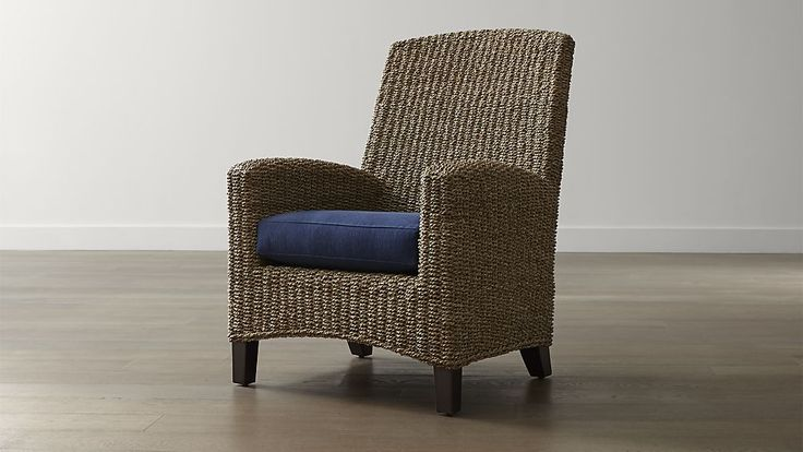 Kona Chair With Cushion Crate And Barrel Cheap Salon