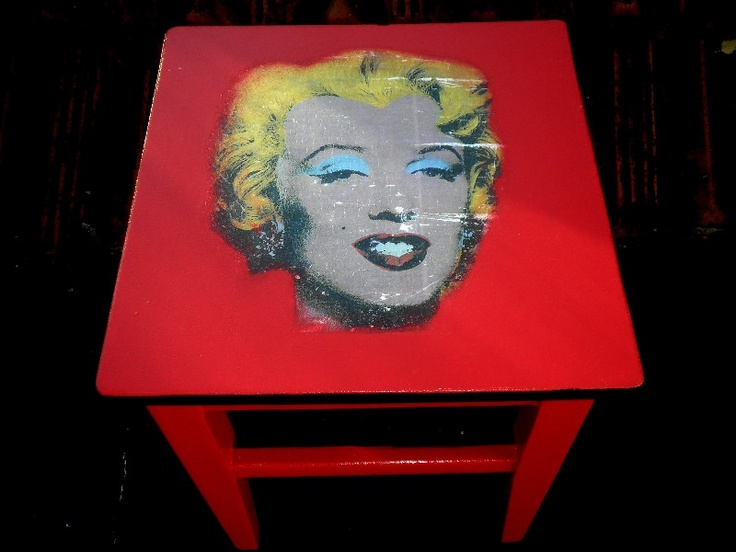 Makeover addict Marilyn Monroe chair