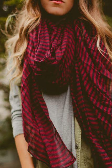 .Comfy scarf