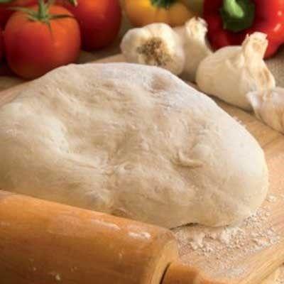 Rezept für einen leckeren, proteinreichen Low Carb Pizzateig