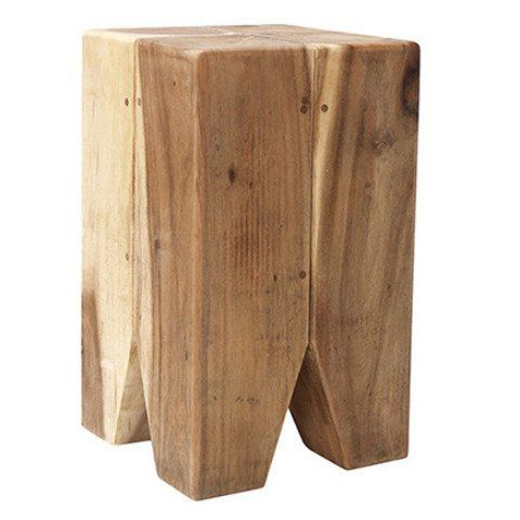 Our best selling wooden tooth stool is made of Suar wood and is extremely strong and robust.
