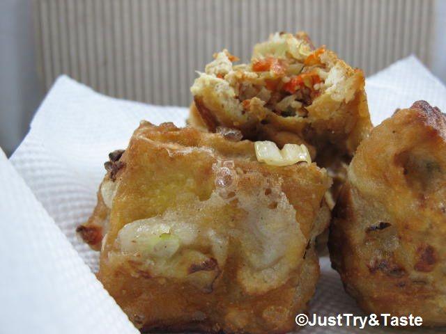 Membuat Tahu Isi Super Pedas | Just Try & Taste