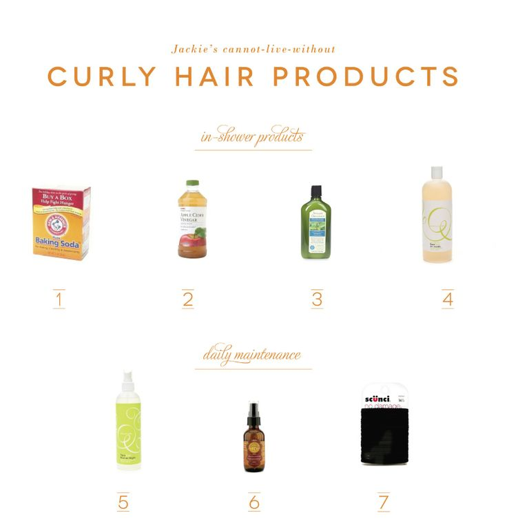 Awesome products and tips for curly hair