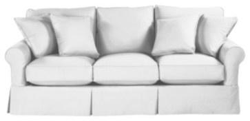 Baldwin Sofa Slipcover - contemporary - sofas - Ballard Designs