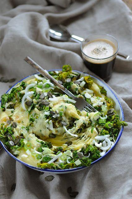 Kalecannon de Dorian cuisine.com Mais pourquoi est-ce que je vous raconte ça... : Mon Kalecannon parce que la cuisine irlandaise ne craint pas d'être revi... remise à ma sauce!