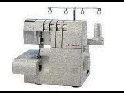 Maquina Overlock SINGER 14SH754 - YouTube Video. Dura 45'