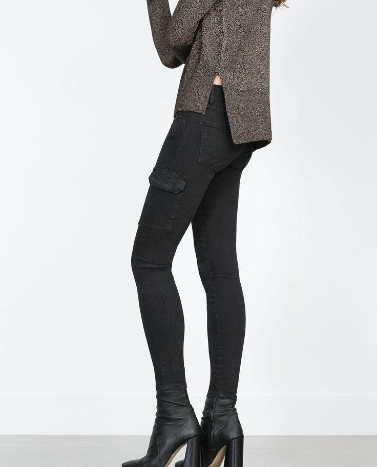 Pantalon Belgique Zara Bordeaux Femme Zara qpT7gvwBp