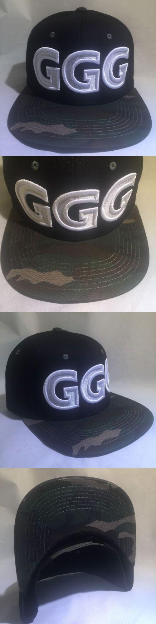 Headbands and Hats 179769: Ggg God Of War Canelo Alvarez Gennady Golovkin Boxing Hat Boxer Snapback Camo -> BUY IT NOW ONLY: $34.99 on eBay!
