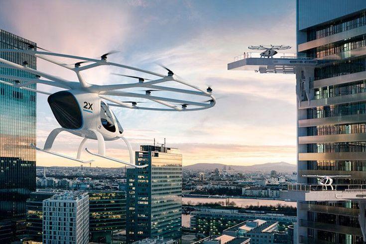Taxi aéreo autónomo: La revolución del transporte urbano