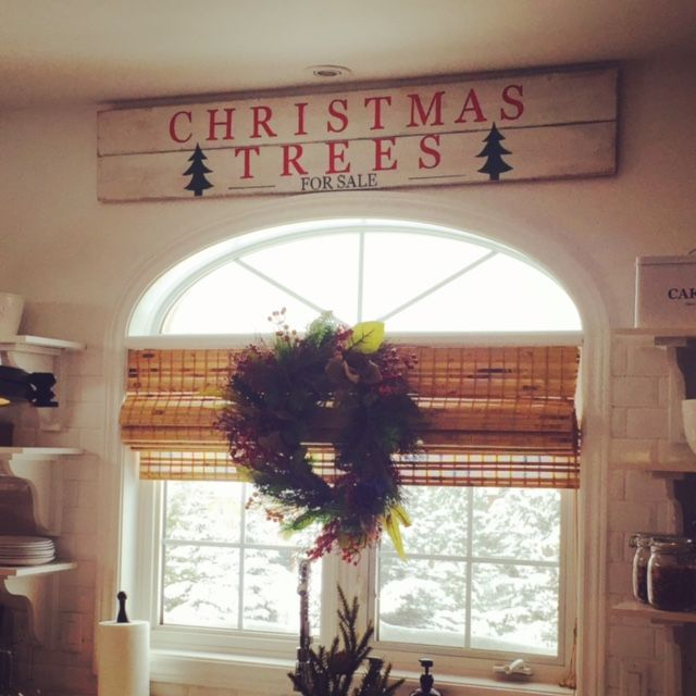 DIY Christmas Tree For Sale sign
