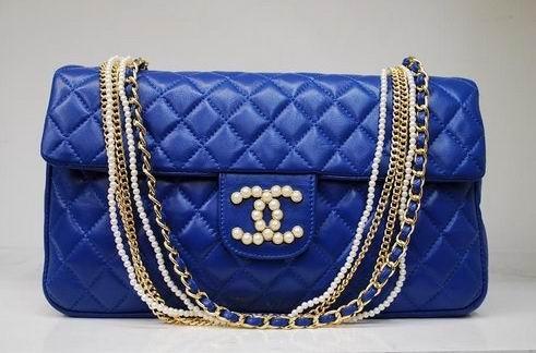 #BLUE: Pur Handbags, Blue Chanel, Chanel Bags, Chanel Handbagschanel, Purse, Chanel Pur, Design Handbags, Leather Handbags, Royals Blue