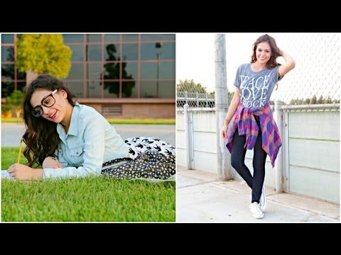 Go watch this BACK TO SCHOOL OUTFIT IDEAS video!!                                                                      UPLOADED BY MACBARBIE07