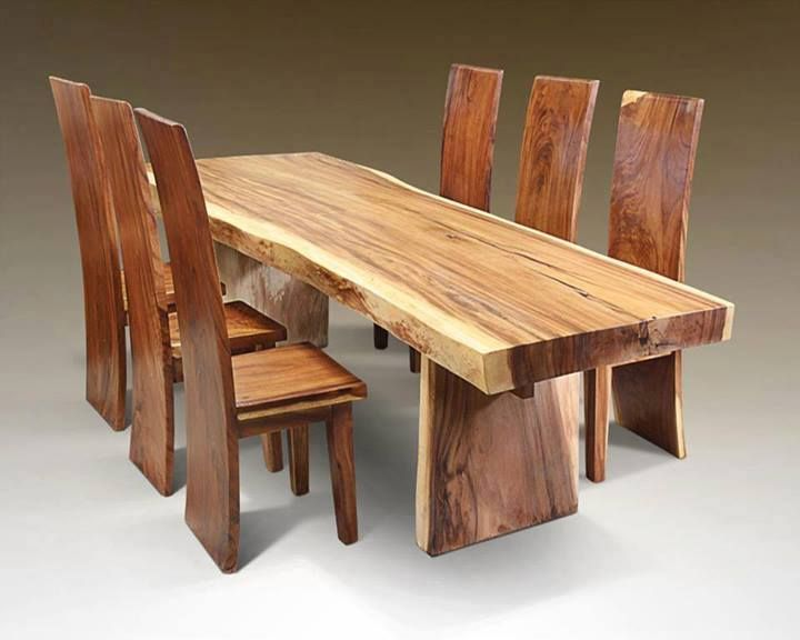 Solid Wood Dining Table And Chairs For Sale