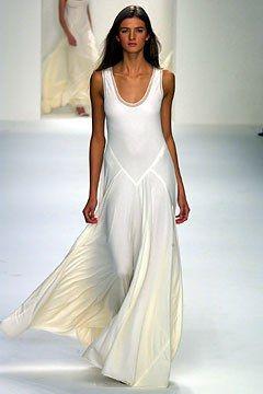 Calvin Klein Collection Spring 2003 Ready-to-Wear Fashion Show - Kamila Szczawinska, Calvin Klein