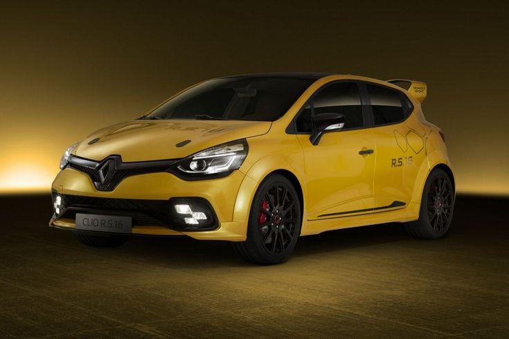 Le concept Renault Clio RS 16 presente au GP de Monaco !