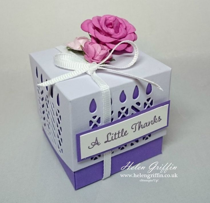 Window Box Die With Simply Cards & Papercraft Magazine – Helen Griffin