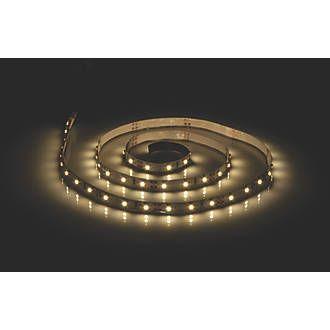 LAP Microflex LED LED Tape Striplights 5m Warm White 7.5W | Strip Lights | Screwfix.com