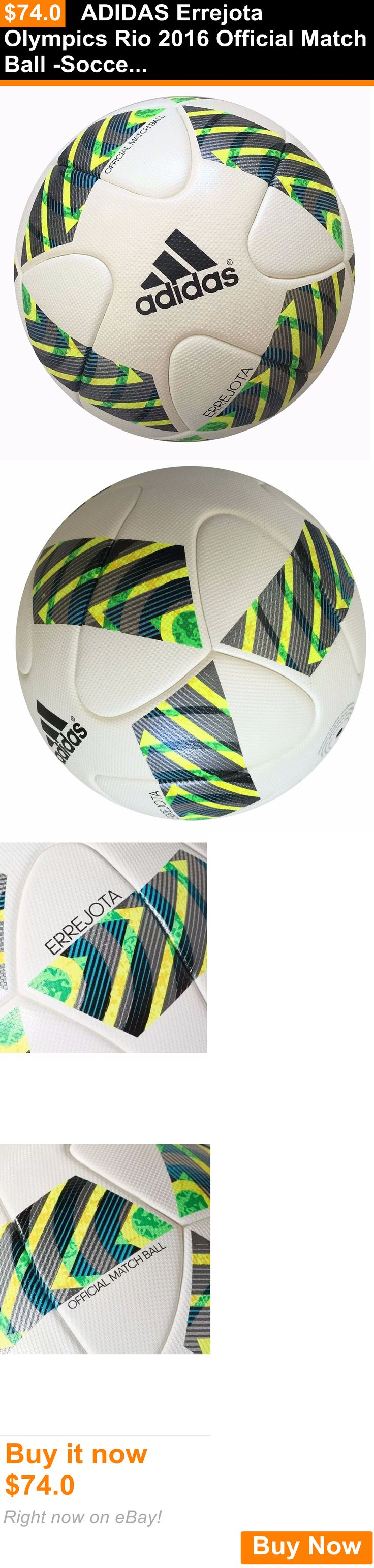 Balls 20863: Adidas Errejota Olympics Rio 2016 Official Match Ball -Soccer , Size 5 $160 New BUY IT NOW ONLY: $74.0