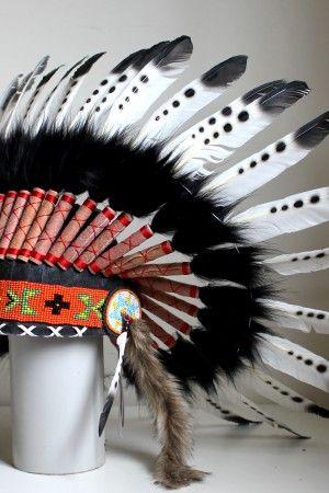 Black Felt Headdress