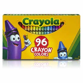Crayola Crayon Colours - Pack of 96