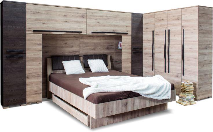 Nest áthidalós garnitúra (ágykeret, matrac és ágyneműtartó nélkül)