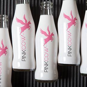 Pink Cow (Bebida sin alcohol y baja en calorías)