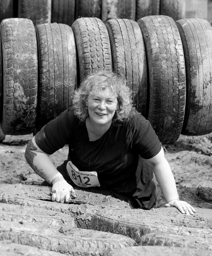 Cath Ash. A new Rangitikei Councillor and McDonald's Mud Muster entrant. Pic Jack McKenzie via Rangitikei Farmstay